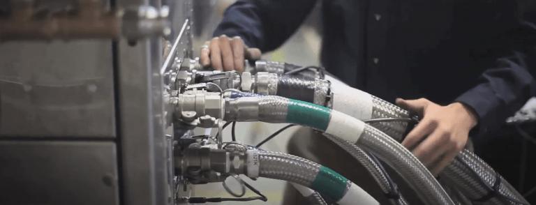 Maintaining Solvent distillation machine