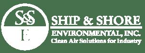 Ship & Shore white logo